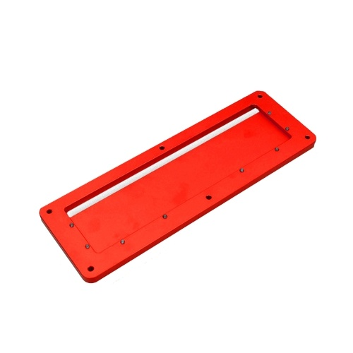 Table Saw Electric Circular Saw Flip Cover Plate Aluminum Alloy Flip-floor Table Special Embedded Cover Plate Adjustable 45-90 Degrees