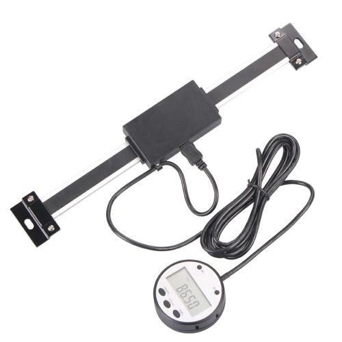 デジタルリニア読み取りスケールオプションの0.01mm磁気リモート外部ディスプレイ定規工作機械ミル旋盤5403-300(0-300mm)用測定ツール
