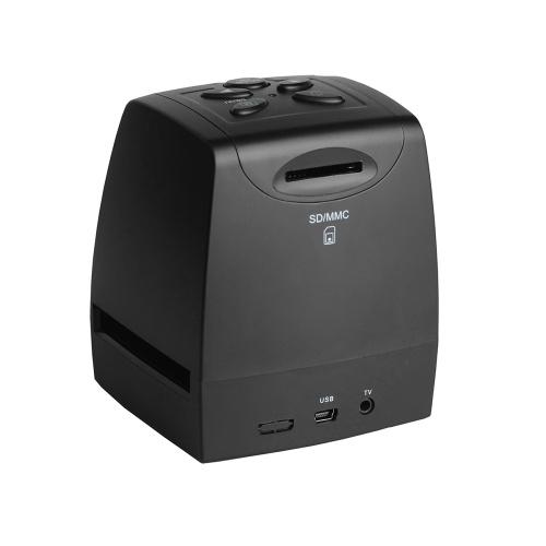 EC718ミニデジタル35mm 135mmネガティブスライドフィルムスキャナーコンバーターフォトデジタルイメージビューアー2.36インチLCDビルドイン編集ソフトウォー