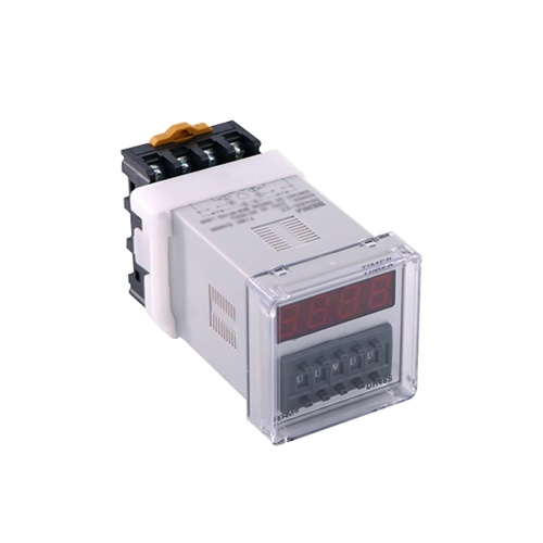 DH48S-2Z Digital Display Time Relay Precision Time Controller With Socket Base