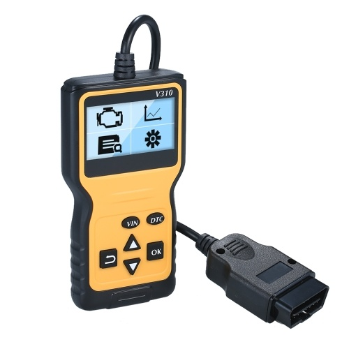 O-B-D2 Scanner Universal O-B-D-II Code Reader Car Automotive Check Engine Light Error Analyzer Auto CAN Vehicle Diagnostic Scan Tool for All O-B-D-II Protocol Cars Since 1996