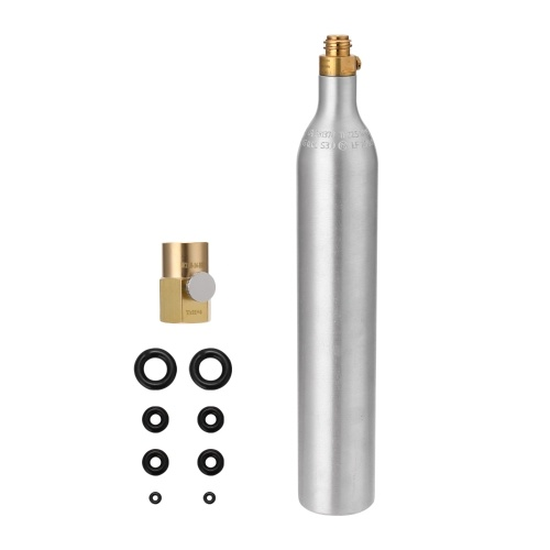 Sodawater 0.6L Bottle Cylinder High Compressed Bottle with Refill Soda Adapter CGA320 Thread