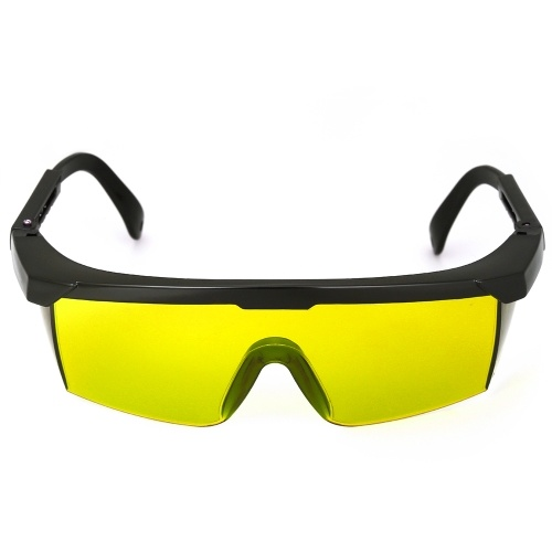 Safety Glasses 200-540nmnm Laser Eye Protection Goggles Yellow