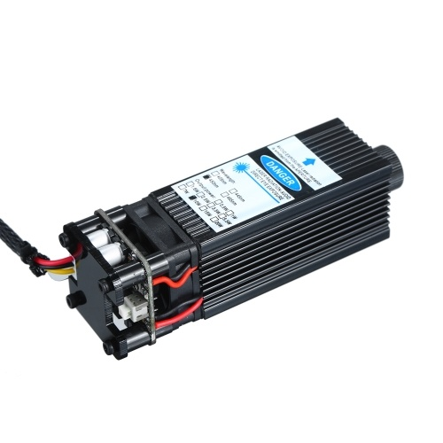10W Laser Module Laser Head 450nm Blue Lase for Laser Engraving Machine Wood Marking Cutting Tool