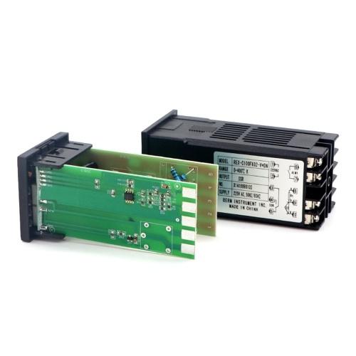 PID Digital Intelligent Temperature Controller REX-C100FK02-V*DN 0-400°C K Type Input SSR Output (100-240V CK long) E12033-2