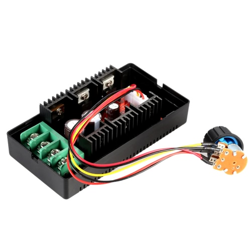 Adjustable 10-50V/40A/2000W DC Motor Speed Control PWM HHO RC Controller