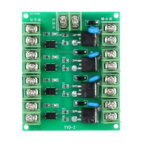 Moduł przełącznika wyzwalania FET MOS Efekt pola Tranzystor Bezpośrednie sterowanie prądem dla pompy silnika Solenoid