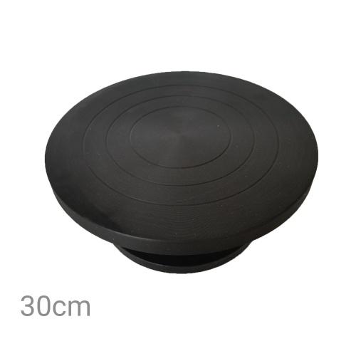 アートサプライ12インチ直径彫刻ホイールミニ粘土作る陶器ホイールターンテーブルボールベアリング