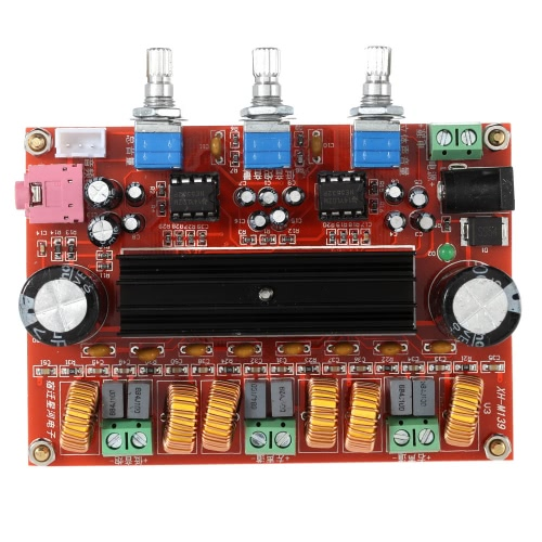 TPA3116D2 50W*2+100W 2.1 Channel Digital Subwoofer Power Amplifier Board DC12V-24V