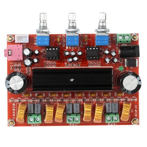 TPA3116D2 50W * 2 + 100W 2.1 canal Subwoofer Digital Power Amplificador placa DC12V-24V