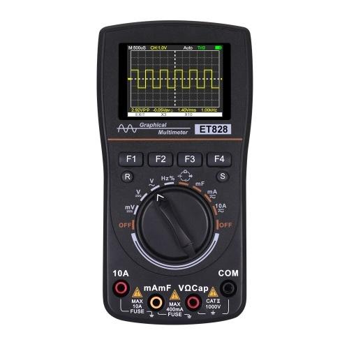 KKmoon 828 2 in 1 High Definition Intelligent Graphical Digital Oscilloscope Multimeter