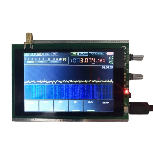 3.5インチタッチLCDマラカイトSDRラジオMalahit DSP SDR HAMトランシーバーレシーバーSTM32H742(50Khz-200MHz)