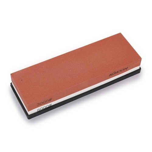 Professional Whetstone Cut Sharpening Stone Household Sharpener for All Blade Kitchen Cutter Sharpener Double Side Grind Stone with Non-Slip Silicone Base
