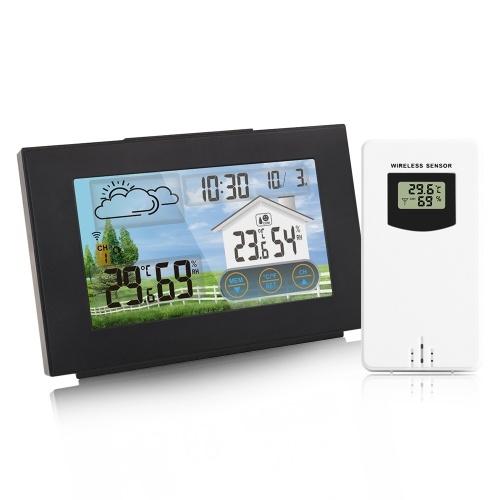 Stazione meteorologica wireless Forecaster Termometro da esterno per interni igrometro con sensore