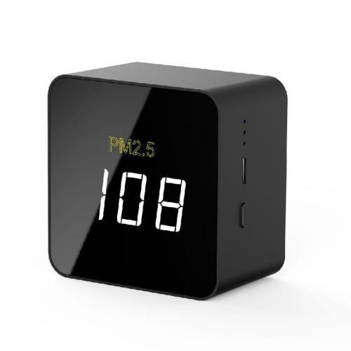 Mini detector USB PM2.5, probador de calidad del aire recargable, monitor con pantalla LED, accesorio de medición eléctrica portátil