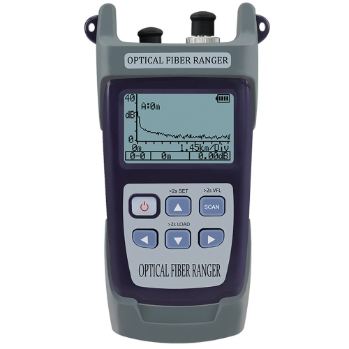 Mini High Accurancy Fiber Optic Portable OTDR Optical Fiber Reflectometer Optical Fiber Obstacle Finder