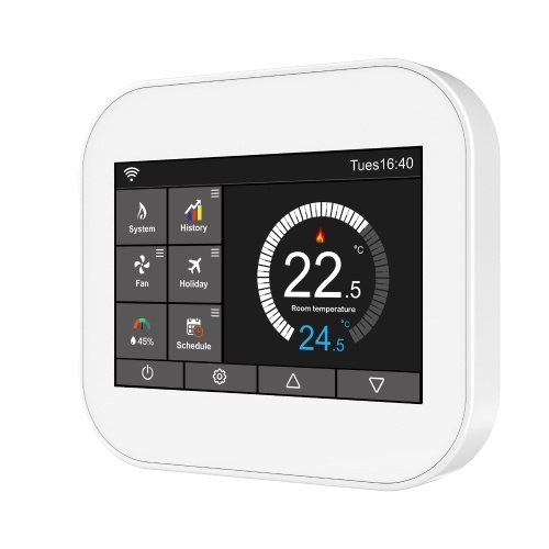 Programmable Electric Heating Temperature Controller Wireless Large Touching Screen