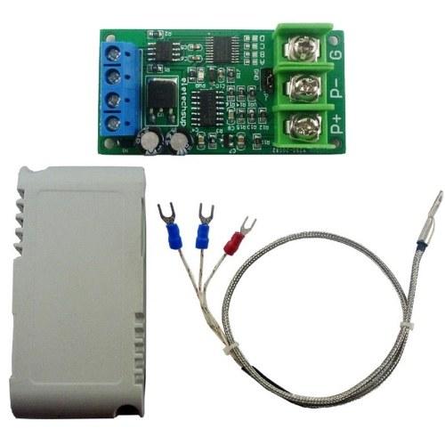 3-Draht PT100 RTD-Thermoelement-Temperatursensormodul Digitales Temperaturmaß im Bereich von -20 ° C bis 220 ° C.