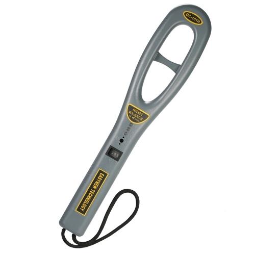 Tragbarer Metalldetektor mit hoher Empfindlichkeit Sicherheitsinspektion Metalldetektor mit Summervibration zur Sicherheitsüberprüfung