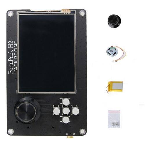 Portapack Tragbarer SDR-Empfänger 3,2-Zoll-LCD-Touchscreen H2 Nur Bedienfeld für Hackrf One mit Akku
