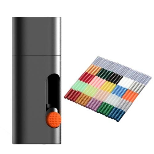 Wowstick Portable Cordless Electric Hot Melt Glue Pen Gluer Type-C Ricaricabile DIY Art Craft Penna per colla Strumento di utilità per la casa domestica