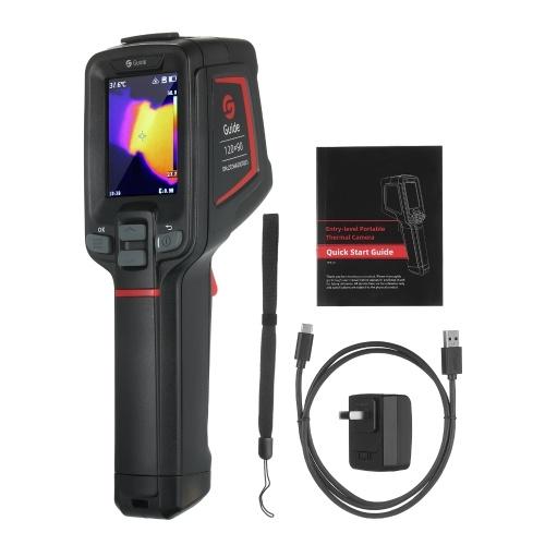 GUIDE T120 Тепловизор Инфракрасная тепловизионная камера Портативная промышленная инфракрасная камера Термографическая камера -20 ℃ ~ 400 ℃ (-4 ℉ ~ 752 ℉)
