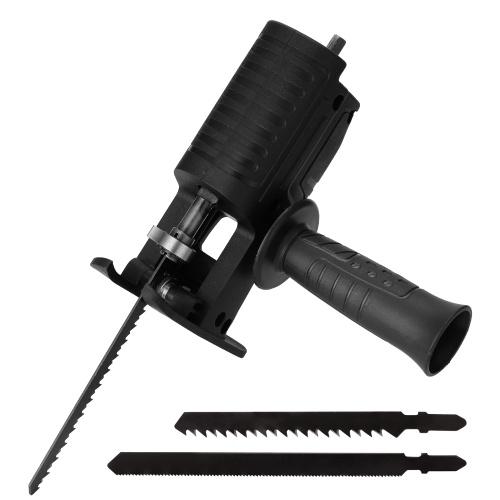 電気ドリル改造電気鋸電気レシプロソー家庭用セイバー鋸パワードリルからジグソーへポータブル木工切削工具