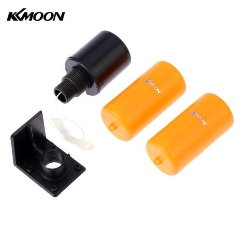 KKmoon 1.2m Duplo Floater Float Sistema automático Líquido Fluido Controlador de Nível Sensor