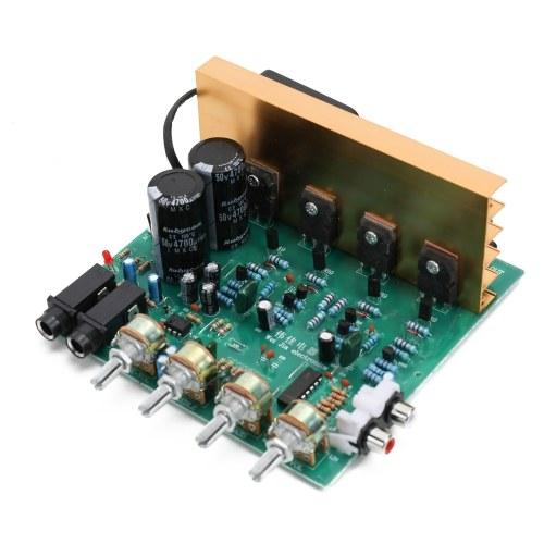 DX-2.1 большой мощности аудио усилитель доска канал высокой мощности сабвуфер двойной домашний кинотеатр AC18V-24V DIY принадлежности
