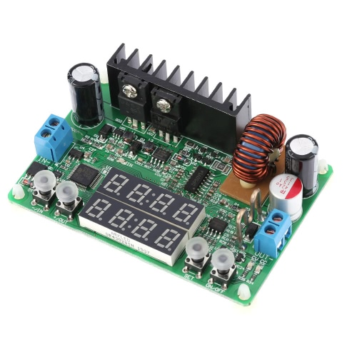 Digital Constant Voltage Current Regulated Power Supply Step-down Module Input DC 6-40V Output 0-32V 5A