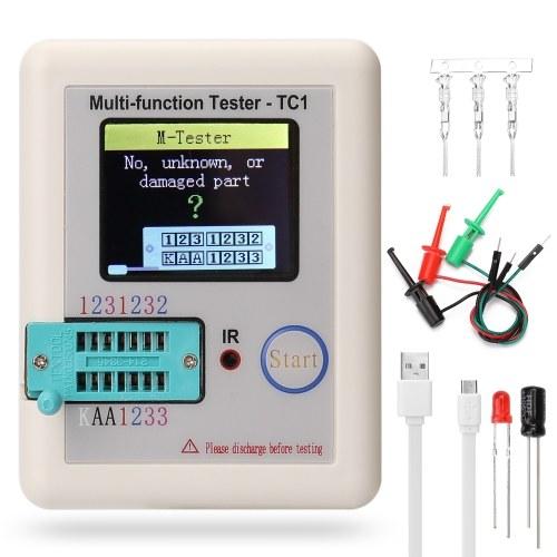 Full Color Screen Graphic Display Multifunctional Transistor Tester