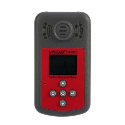 UYIGAO nuovo metraggio portatile a monossido di carbonio portatile