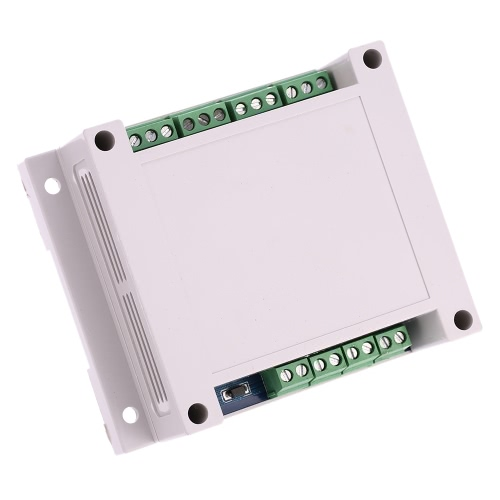 Programmable DC12V 4-Channel Relay Module PLC Board Digital Adjustment Signal Trigger Delay Timer Switch Control
