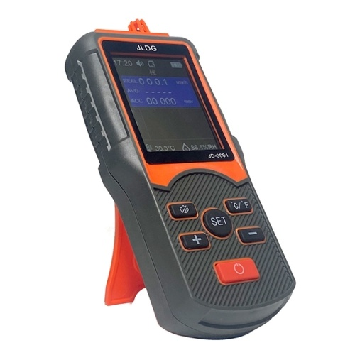 JD-3001 Multifunctional Geiger Counter and Electromagnetic Radiation Detector Temperature and Humidity Measurement Device with Data Export Function