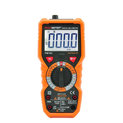 PEAKMETER PM18C True RMS Multifunktions-Digital-Multimeter