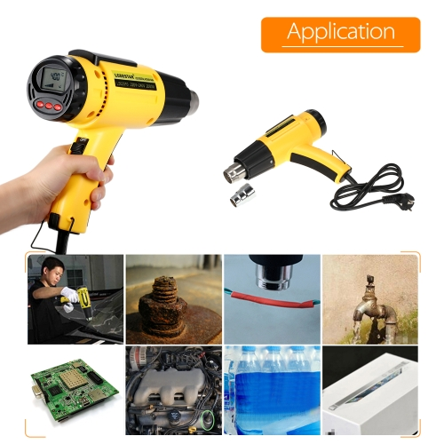 LODESTAR High Quality LCD Digital Temperature-controlled Electric Hot Air Gun фото