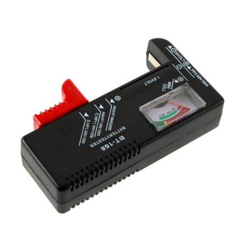 新しいAA / AAA / C / D / 9V / 1.5Vユニバーサルボタン電池ボルトテスターチェッカー