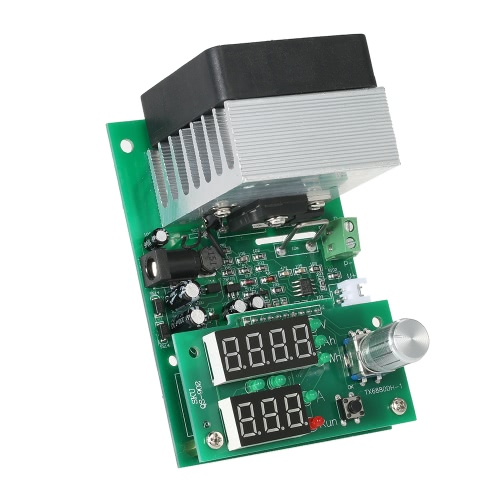 多機能定電流電子負荷9.99A 60W 30V電源バッテリー容量テスターモジュールを放電