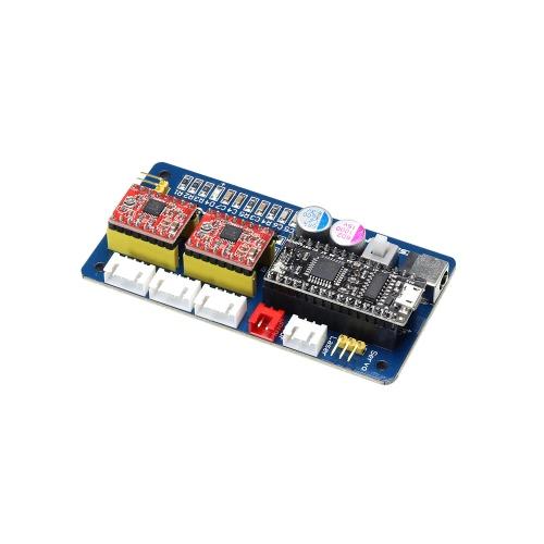 EleksMaker EleksMana SE XY 2 Axis Stepper Motor Driver Controller Board Control Panel For DIY Laser Engraver