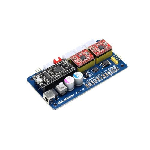 EleksMaker EleksMana SE XY 2 Axes Stepper Motor Driver Controller Board Panneau de configuration pour DIY Laser Engraver