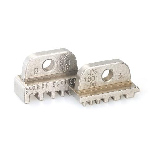 ワイヤークリンパー圧着プライヤーJaw JX-1601-01 AWG24-140.25-2.5mm²ブーツレースフェルールクリンパーコードエンド端子ジョー金型デュポン用端子クランププライヤーワイヤーカッティング金型端子ヘッド圧着工具
