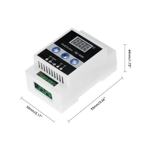 GeekTeches TMC-6000 Guide Rail Digital Temperature Controller