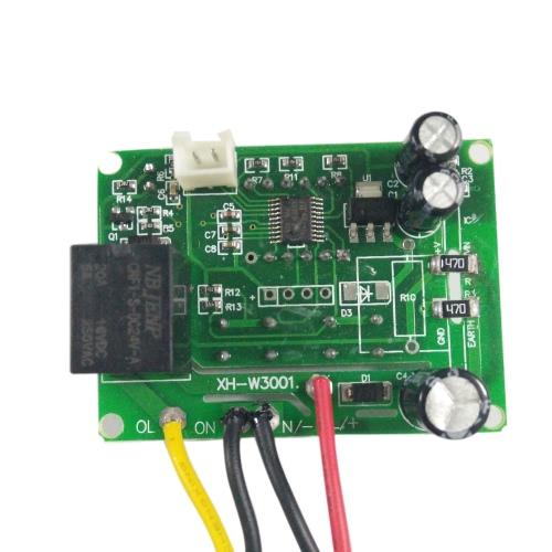 XH-W3001デジタルLEDプリワイヤクール/ホット温度コントローラサーモスタットコントロールスイッチセンサ(220V / 24V / 12V)