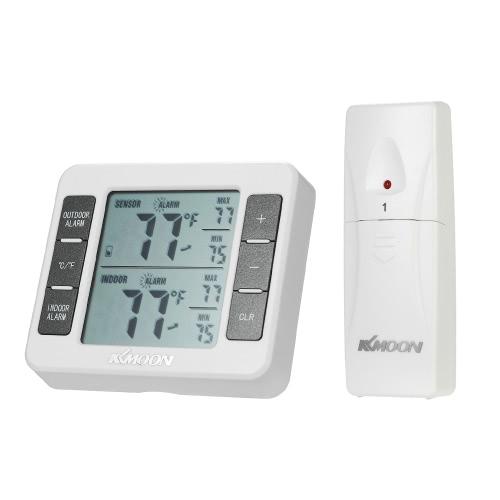 KKmoon Mini LCD Termometro Digitale Temperatura 0 ℃ ~ 50 ℃ con Misura ℃ / ℉ Visualizzazione Minima Valore Min