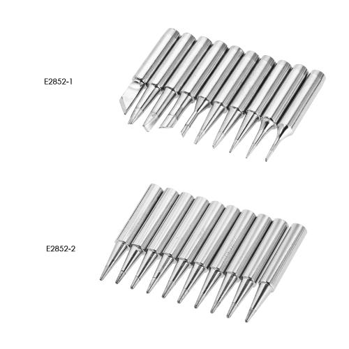 10Pcs Solder Screwdriver Iron Tip 900M-T 936 For Soldering Rework Station Tool