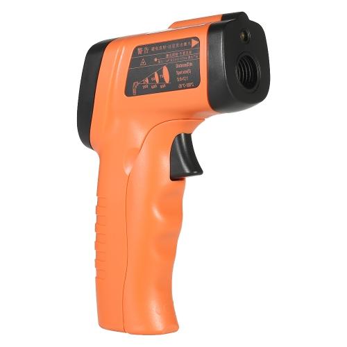 RuoShui -20 ~ 550 ℃ (-4 ~ 1022 ℉) 12: 1 de mano sin contacto IR Digital Laser Termómetro Infrarrojo Temperatura Tester Pirómetro