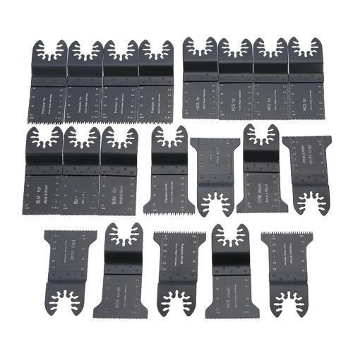 Kit de herramientas múltiples de la hoja de sierra oscilante 20pcs / set