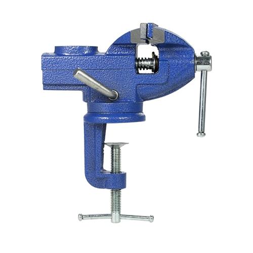 50mmヘビーデューティテーブルバイススイベルロッククランプホビークラフト修理ツール