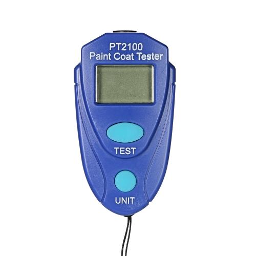Medidor de espesor digital Mini medidor de espesor de recubrimiento exacto Medidor de espesor de pintura exacto del coche