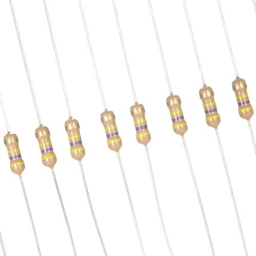 1500pcs 1 ohm-10M ohm 5/% 1//4W Resistor Assorted Carbon Film Kit High Quality